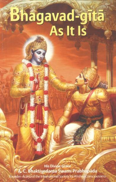 Bhagavad Gita as it is -English,Pocket Size,Protable(4x6 Inch,ONLY 408 gm)