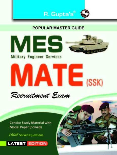 Military Engineering Services (MES)MATE (SSK) Recruitment Exam Guide