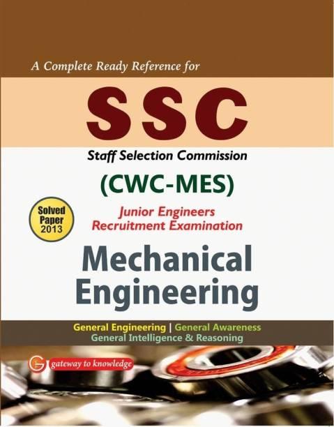 SSC CWC/MES 2014 Mechanical Engineering: Junior Engineering Recruitment Exam