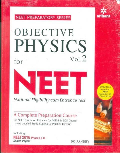 Objective Physics Vol.-2 For NEET Single Edition