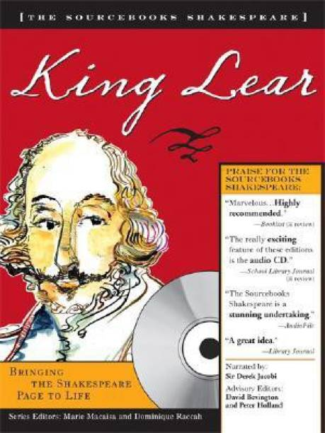 King Lear With Audio CD (Sourcebooks Shakespeare)