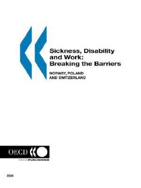 Sickness, Disability and Work: v. 1