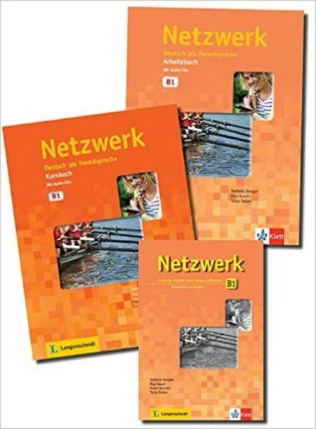 Netzwerk B1 Textbook+Workbook+Glossar+CD Paperback – 2015