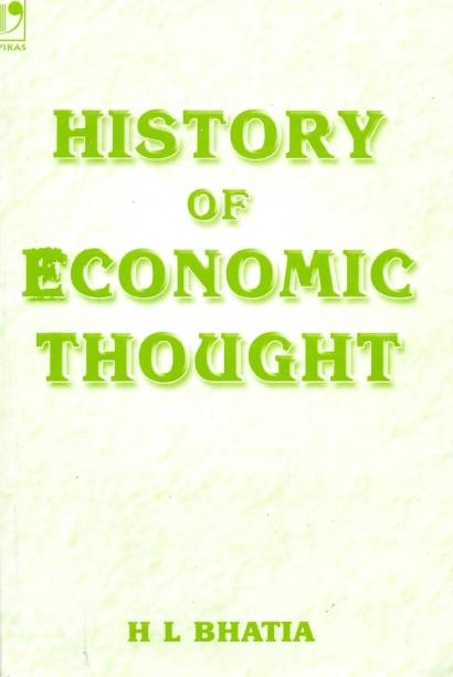 History of Economic Thought 4th  Edition