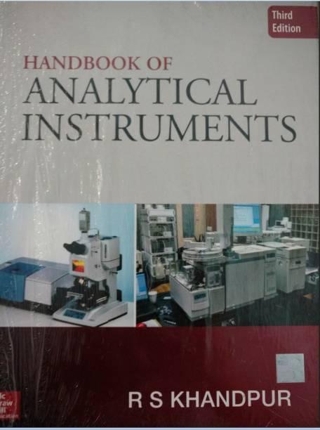 Handbook of Analytical Instruments 3 Edition