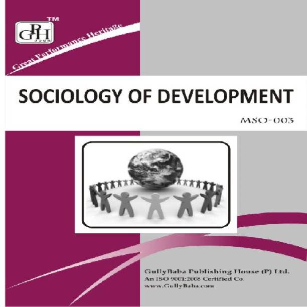 MSO003 Sociology of Development (IGNOU Help book for MSO-003 in English Medium)