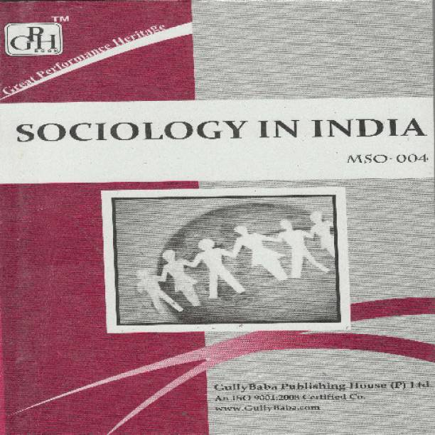MSO004 Sociology In India (IGNOU Help book for MSO-004 in English Medium) Latest edition Edition
