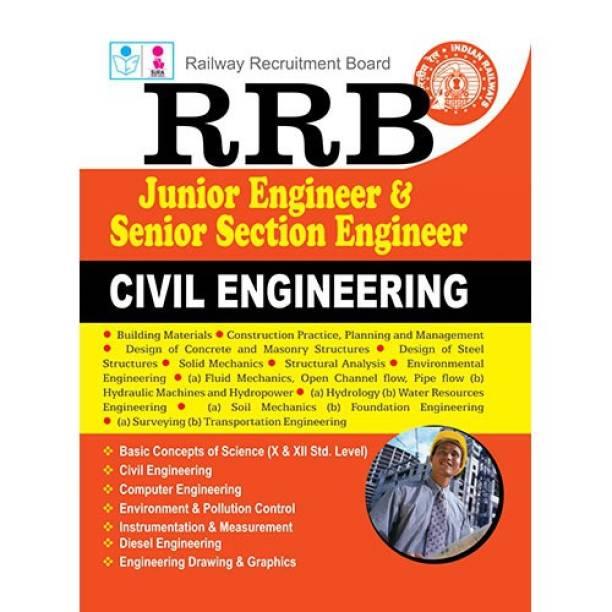 RRB JUNIOR ENGINEER AND SENIOR SECTION ENGINEER CIVIL ENGINEERING Exam Book