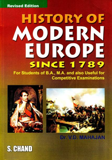A History of Modern Europe Since1789