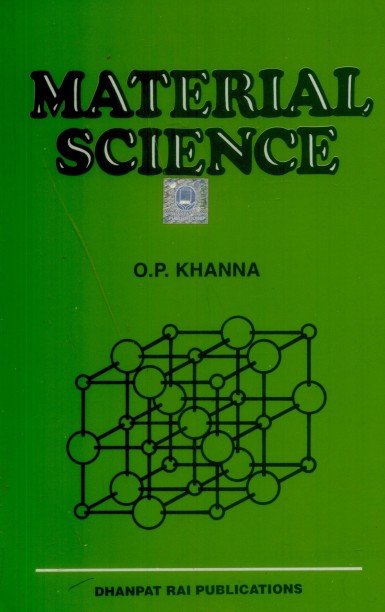 Material Science By Op Khanna Pdf