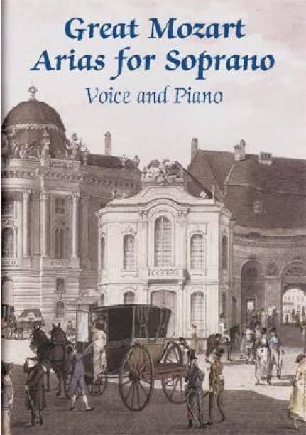 mozart arias for mezzo soprano the vocal library