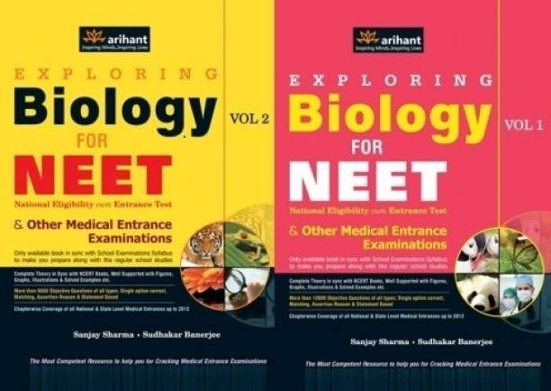 Biology for NEET Vol-1 & 2 (Set of 2 Books)