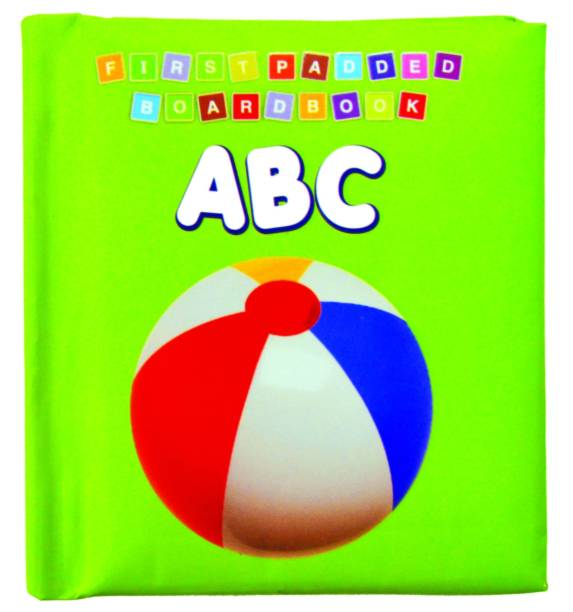 First Padded Board Book - ABC