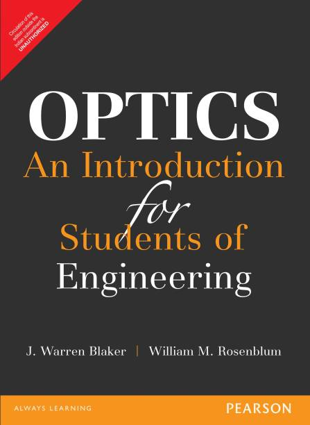 Optics: An Introduction for Students of Engineering 1 Edition
