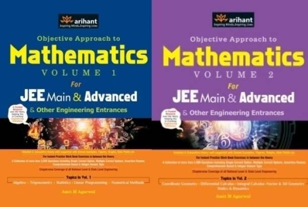 Mathematics for Engineering Entrances Vol-1 & 2 (Set of 2 Books)