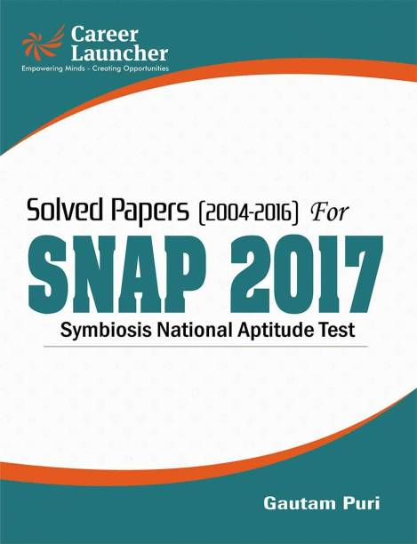 Solved Papers 2004 - 2016 for SNAP (Symbiosis National Aptitude Test) 2017 2017 Edition