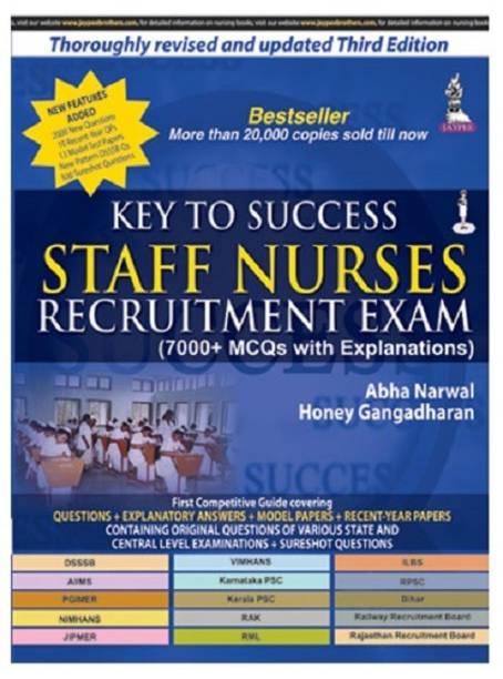 Key to Success Staff Nurses Recruitment Exam