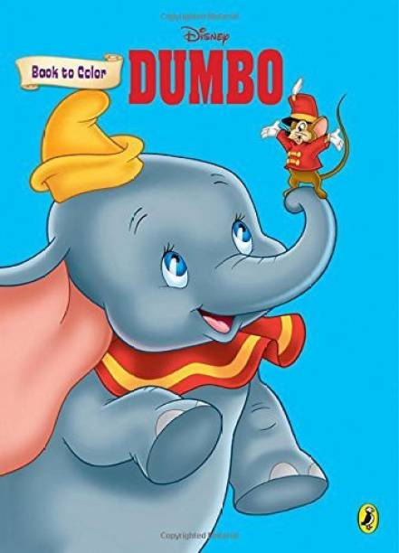Dumbo - Book to Colour