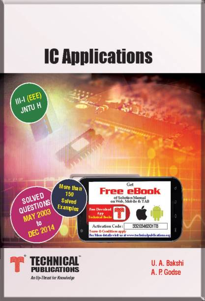 U a bakshi books store online buy u a bakshi books online at best ic applications for jntuh iii sem i eee 2013 course 1 edition fandeluxe Image collections
