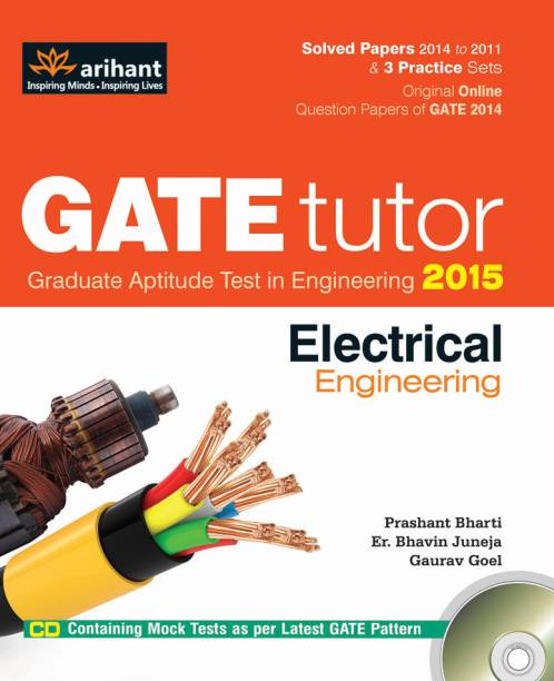 gate tutor 2015 - electrical engineering (with cd)