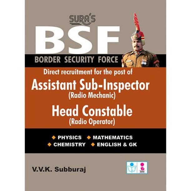 BSF Assistant Sub Inspector(Radio Mechanic) Head Constable ( Radio Operator) Exam Books