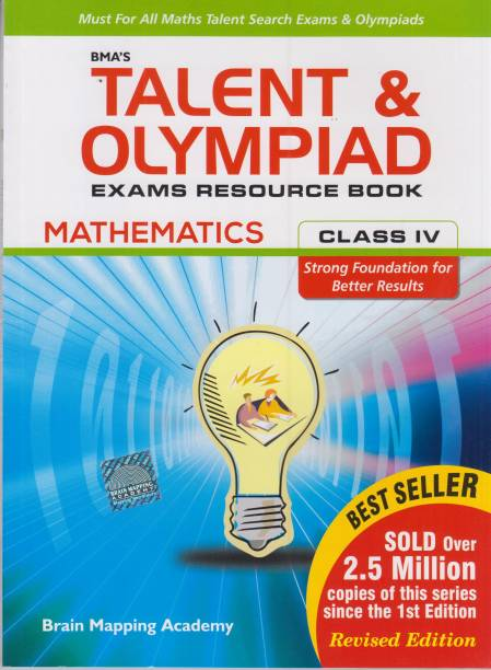 BMA's Talent and Olympiad Mathematics Exams Resource Book for Class 4