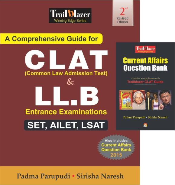 A Comprehensive Guide for Clat (Common Law Admission Test) & Ll.b Entrance Examinations - Set, Ailet, Lsat - SET, AILET, LSAT