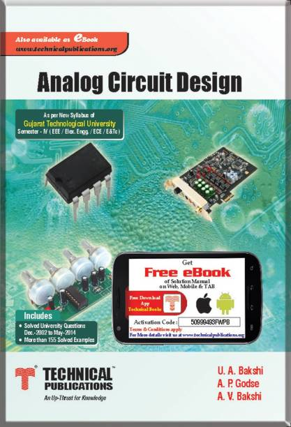 U a bakshi books buy u a bakshi books online at best prices in analog circuit design for gtu iv ece 2013 course 1 edition fandeluxe Image collections