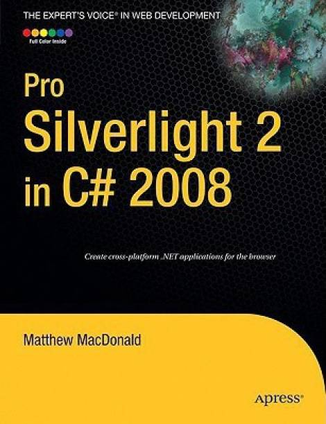 Pro Silverlight 2 In C 2008 1st Edition