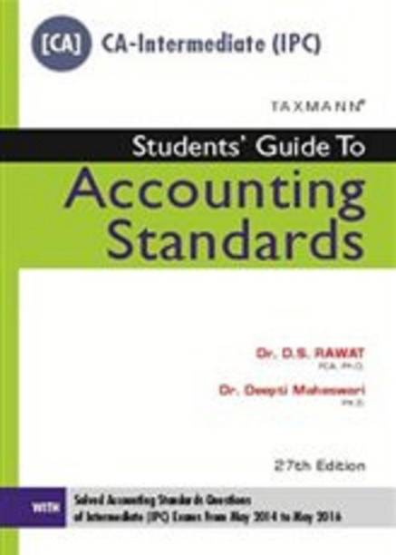 Students Guide to Accounting Standards [CA-Intermediate (IPC)]