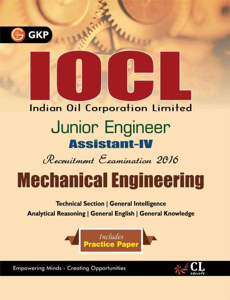 Iocl (Indian Oil Corporation Limited) Mechanical Engineering - Junior Engineer Assistant -Iv (2016)