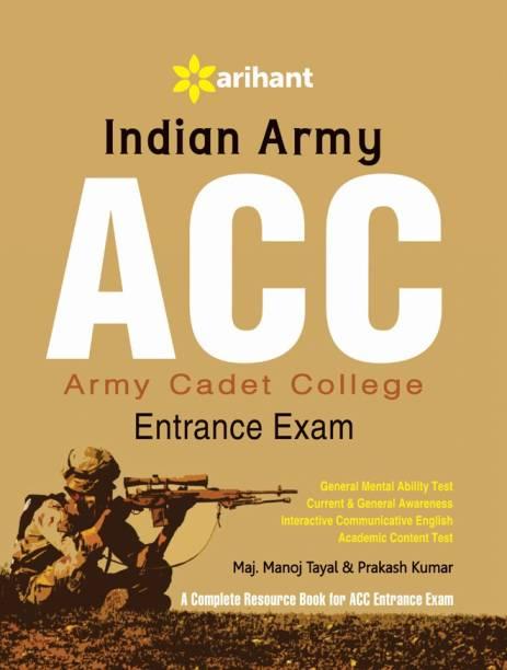 Indian Army Acc Entrance Exam 5 Edition