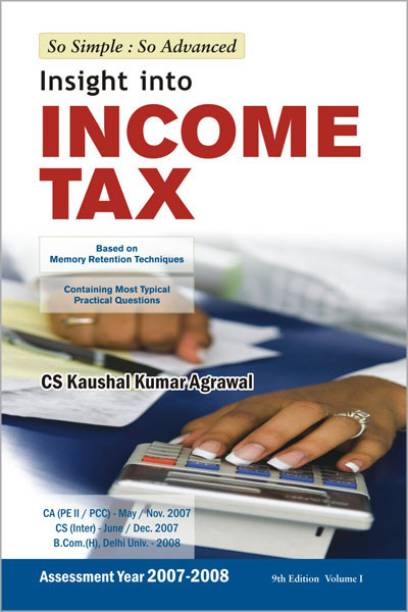 Income tax books buy income tax books online at best prices insight into income tax based on memory retention techniques vol 1 9th fandeluxe Images
