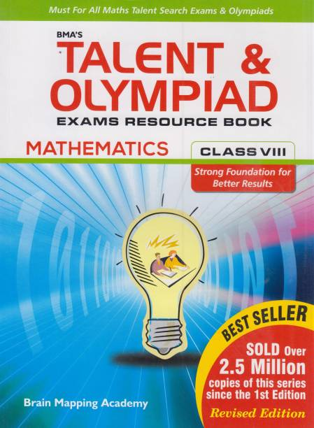BMA's Talent and Olympiad Mathematics Exams Resource Book for Class 8 1 Edition