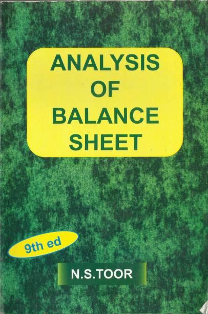 Analysis of Balance Sheet