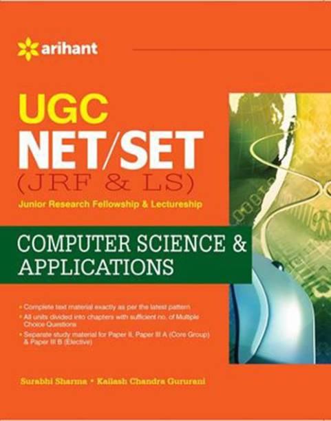 UGC-CSIR NET (JRF & LS)Computer Science & Applications Single Edition