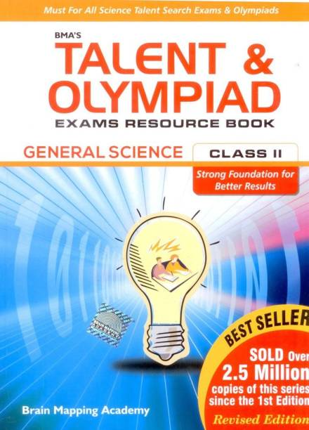 BMA'S Talent & Olympiad Exams Resource Book General Science Class II