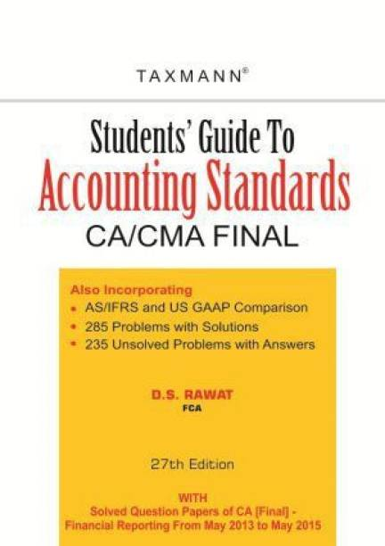 Students Guide To Accounting Standards 27th  Edition