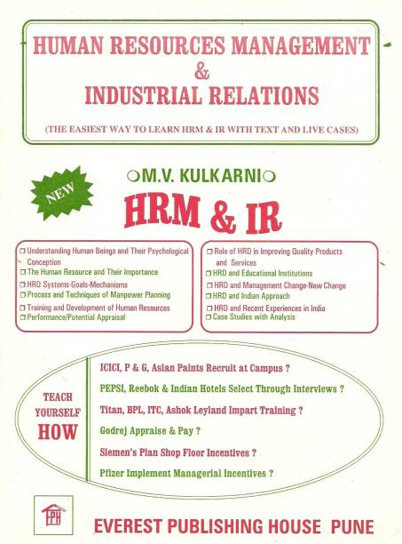 Human Resource Management and Industrial Relations