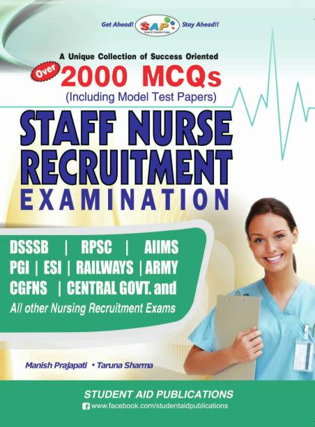 2000 MCQ's Staff Nurse Recruitment Examination