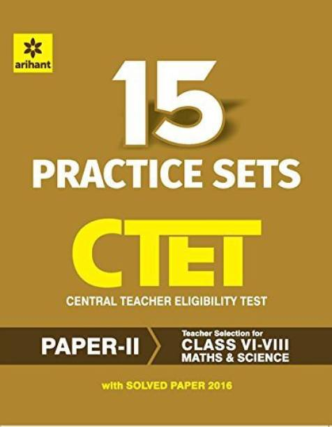 Arihant experts ctet books buy arihant experts ctet books online ctet 15 practice sets paper ii teacher selection for class vi viii fandeluxe Image collections
