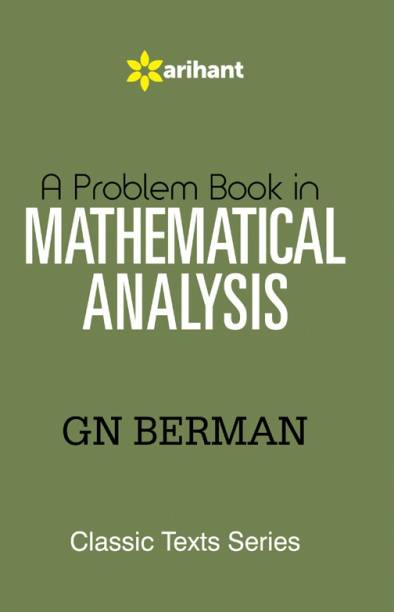 A Problem Book in MATHEMATICAL ANALYSIS 5th  Edition