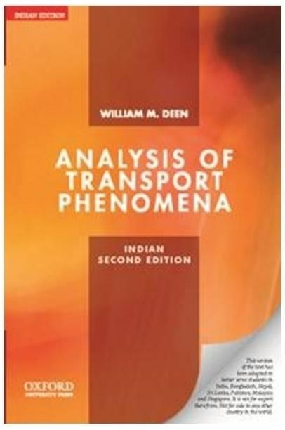 Analysis of Transport Phenomena 2nd Edition