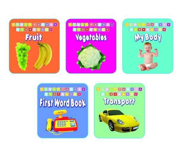 First Padded Board Book - 6 to 10 Pack 2