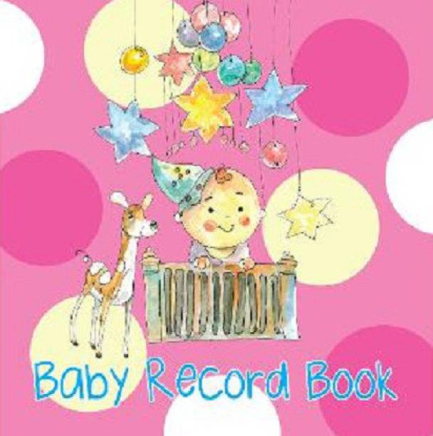 Record Book: Baby Record Books for Girls (Pink)