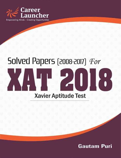 XAT (Solved Papers 2008-2017) 2018