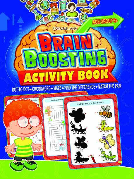 Brain Boosting Activity Book- Age 3+ - Age 3+