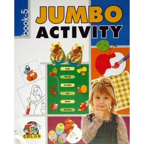 Jumbo Activity Book 5