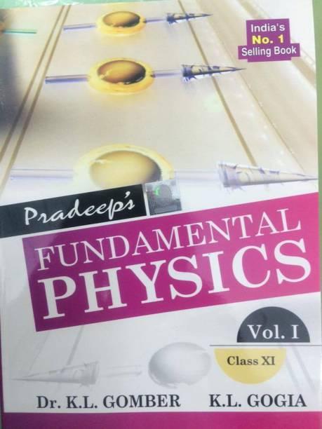 Pradeep's Fundamental PHYSICS Class 11th (Vol I&II)