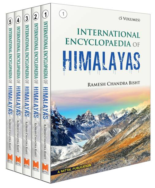 International Encyclopaedia Of Himalayas (Set Of 5 Vol.) 01 Edition